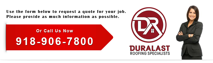 Duralast Roofing Request A Quote Banner